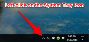 Left click system tray icon.png