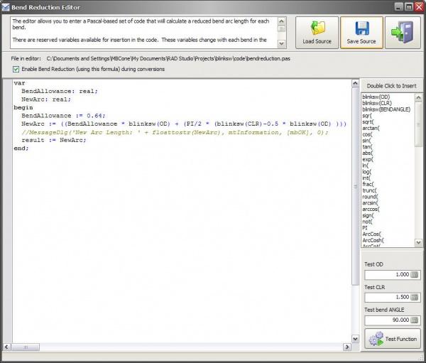 Bend Reduction Editor - ATTWiki