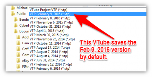 Vtube saveas dialog project fileversion example.png